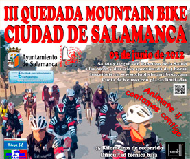 III Quedada Mountain Bike en Salamanca