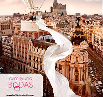 """Descubre la feria """"Las mil y una bodas"""" del 26 al 28 octubre en Madrid"""