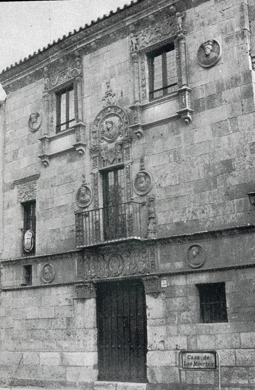 Casa de las muertes antigüa