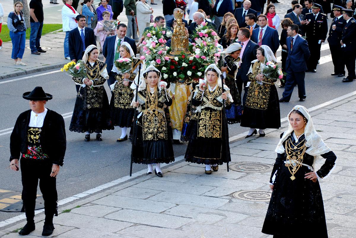 Las fiestas de Salamanca: la Virgen de la Vega