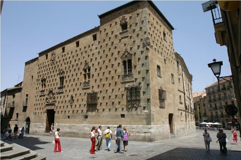 La Casa de las Conchas en Salamanca