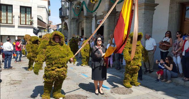 Los hombres de musgo de Béjar y la procesión del Corpus