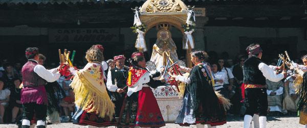 Las Fiestas de la Asunción en La Alberca (Salamanca)