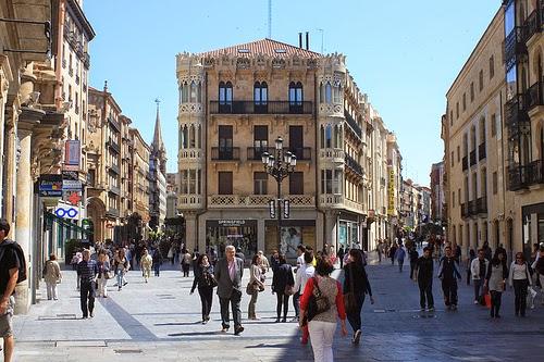 Ir de compras por Salamanca