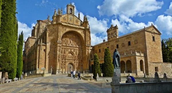 ruta por los edificios religiosos de Salamanca