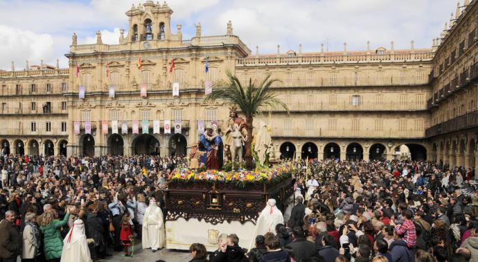 Las costumbres más curiosas de la Semana Santa de Salamanca