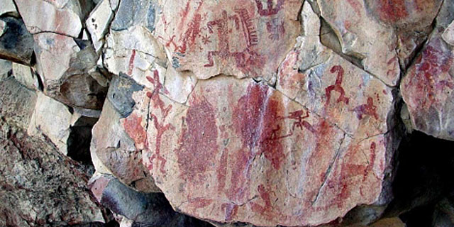 Las pinturas rupestres de Las Batuecas