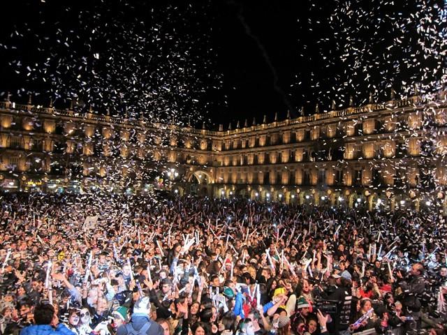 Nochevieja Universitaria de Salamanca 2018