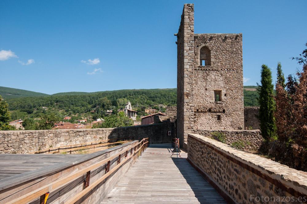 El castillo de San Martín del Castañar: Centro de la Reserva de la Biosfera
