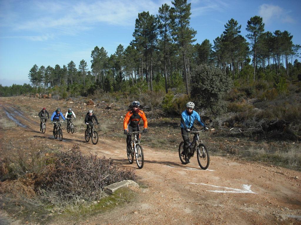 rutas de cicloculturismo en la provincia de Salamanca