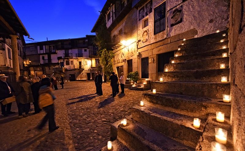 Noche de las Almas Blancas en Mogarraz