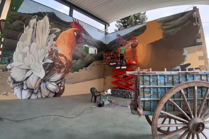 Arte Urbano en Garcibuey: el pueblo que adora los graffitis